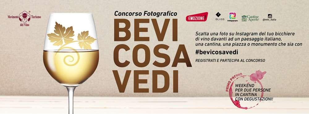 banner instagram contest #Bevicosavedi