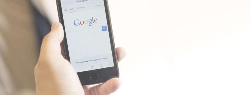 navigazione Google su cellulare