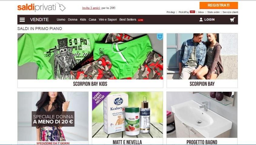 eCommerce Design esempio 4